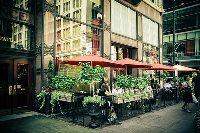Chicago cafe