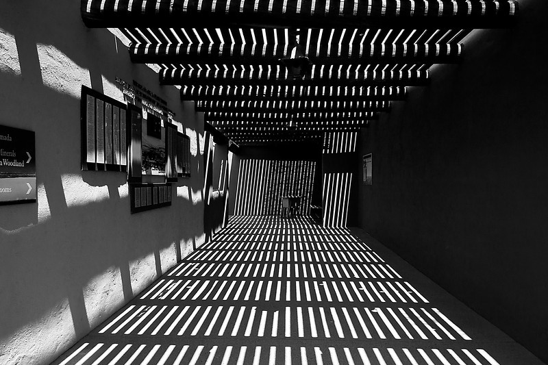 Vertigo - Hallway at Arizona-Sonora Desert Museum - Tucson, AZ