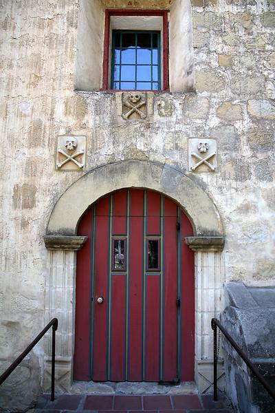 Door To Cemetary - Mission Santa Barbara