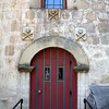 Door To Cemetary - Mission Santa Barbara