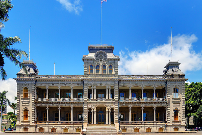 Iolani Palace - Honolulu, HI