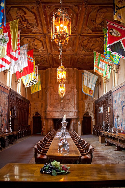 Dining Hall - Hearst Castle