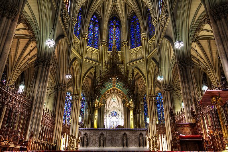 St. Patricks Cathedral Altar - New York, NY