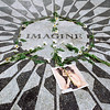 Imagine Mosaic in Central Park - New York, NY
