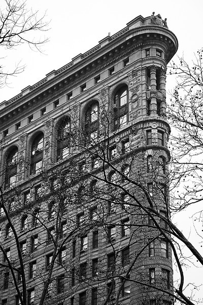 The Flatiron Building - New York, NY