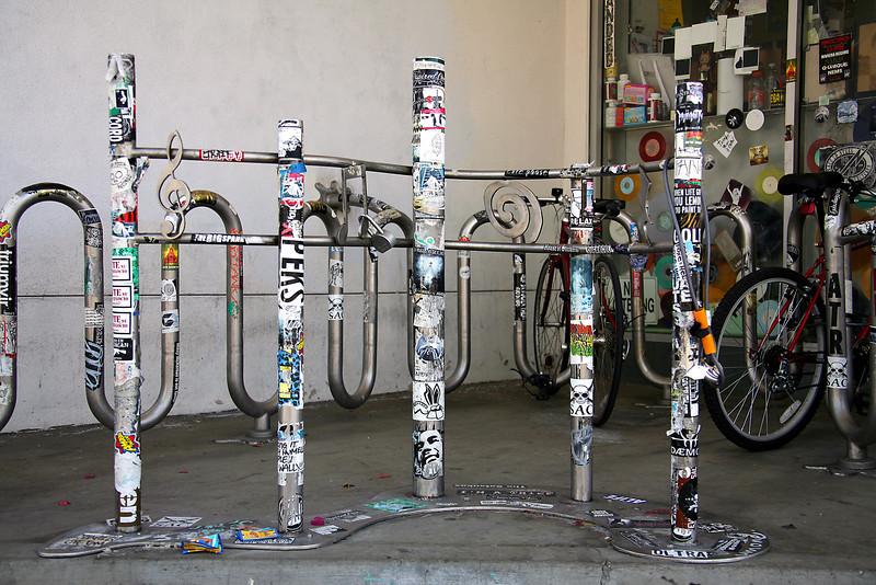 Amoeba Bike Racks - Los Angeles