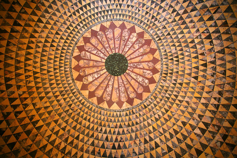 Floor Of Hercules Room - Getty Villa - Los Angeles