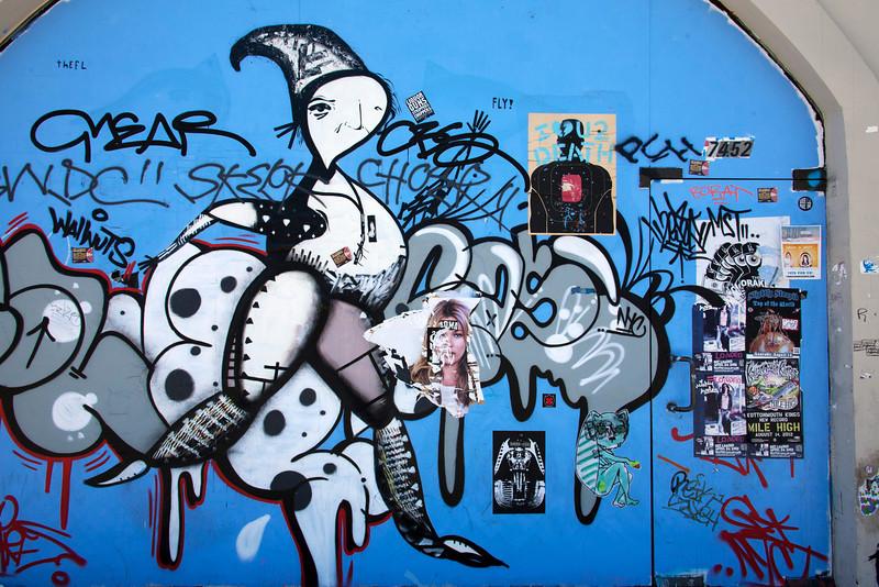 Blue Door On Melrose - Los Angeles