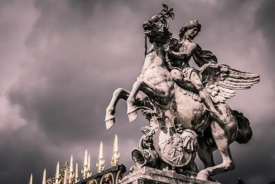 Statue in the Jardin des Tuileries