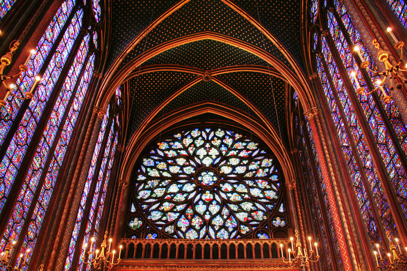 Ste Chapelle Rose Window