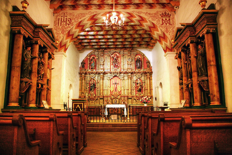 Mission Dolores Original Chapel - San Francisco, CA