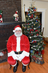 Santa Claus was the Guest of Honor at the InfoAge Science History Learning Center and Museum in Wall, New Jersey, as they hosted Dinner with Santa on 12/13/2018. (STEVE WEXLER/THE COAST STAR).