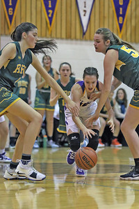 St. Rose High School takes on Red Bank Catholic High School in a girls varsity basketball game held in Belmar on Monday December 17, 2018. (MARK R. SULLIVAN /THE COAST STAR)