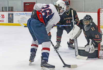 no.26, Patrick Demarnis Wall v/s Hillsborough hockey in Wall, NJ on 1/4/19. [DANIELLA HEMINGHAUS | THE COAST STAR]