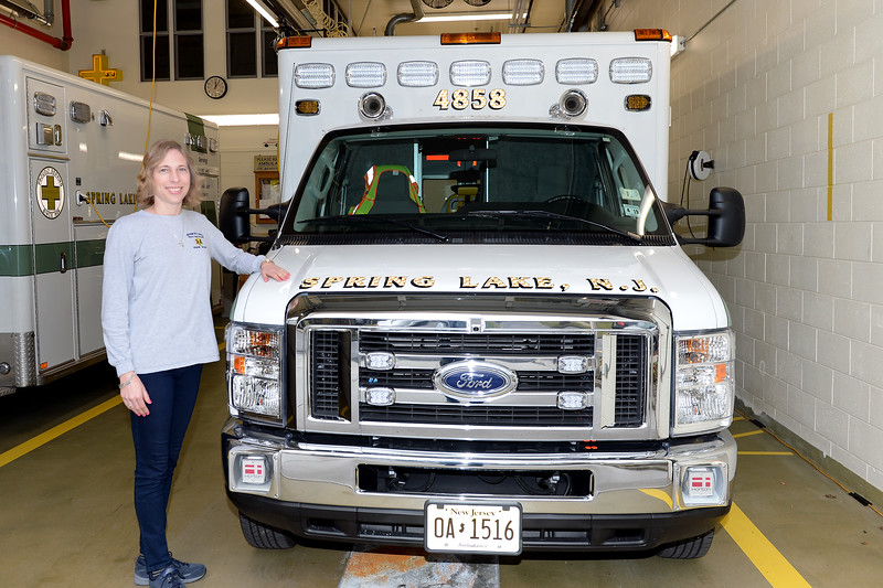 Andrea Rodgers, Spring Lake First Aid Squad, People Story, 01/05/2019.