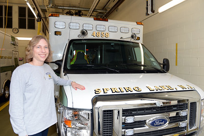 Andrea Rodgers, Spring Lake First Aid Squad, People Story, 01/05/2019. (STEVE WEXLER/THE COAST STAR).