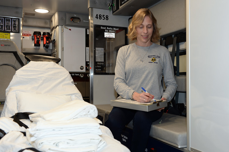 Andrea Rodgers,Spring Lake First Aid Squad, People Story, 01/05/2019.(STEVE WEXLER/THE COAST STAR).