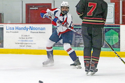 no.67, Michael Kocsis Wall v/s Hillsborough hockey in Wall, NJ on 1/4/19. [DANIELLA HEMINGHAUS | THE COAST STAR]