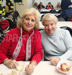 SG Egg Nog Party// Sea Girt residents Pat Raffetto and Judy Paradine