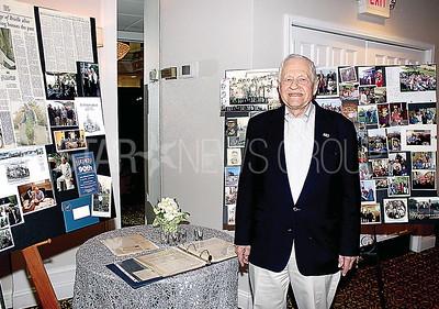 Spring Lake John Belding 90th birthday 1/21/2017 from L to R: John Belding