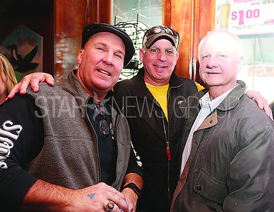 SG White Family Fundraiser //State Police Offciers Mike Shupin . Rich Zarrili and Jay Boyd