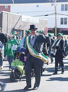 BELMAR ST. PATRICKS DAY PARADE// Grand Marshal Ed Donovan