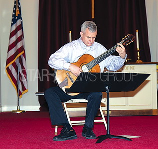 Belmar Concert at First Presbyterian Church 03/12/2017:  Keith Calmes