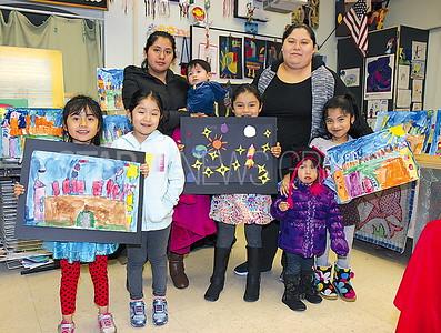 Bradley Beach Elementary School Art Fair 03/09/2016: The Ramirez Family from Bradley Beach