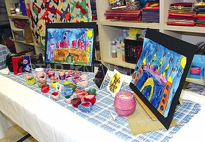 Bradley Beach Elementary School Art Fair 03/09/2016: Children's artwork