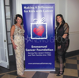 Wall Emmanuel Cancer Foundation Event 03/18/2017 from L to R: Rose Contreras Emmanuel East Regional Director from Wall, Peggy Dekastrozza comittee member from Toms River