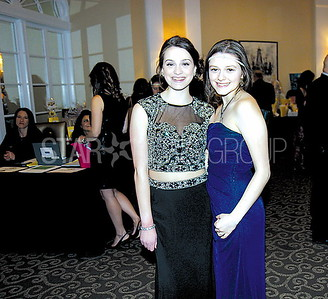 Wall Emmanuel Cancer Foundation Event 03/18/2017 from L to R: Cassie Passantino and Maria Lesniewski both from Wall