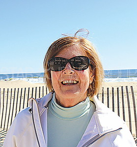 "Street Beat: Ruth Klucharits from Manasquan ""Hopefully the Yankees have a good season, but my grandson plays on the Mets peewee team so I'm rooting for the Mets as well."""