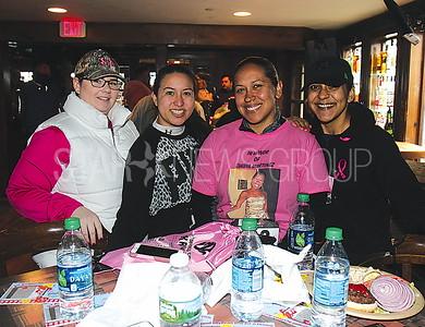 Lake Como De-FEET 5K 04/01/2017 from L to R: Rebecca Cleaver, Sarahbeth Barnosky, Maria Mercado, Patricia Mercado all from New York