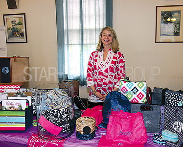 "Manasquan Woman's Club Spring Fling Vendor Fair 04/01/2017: Aileen O'Shea from Princeton with ""31 Gifts"""