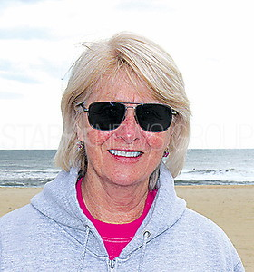 """Street Beat: Pat Zwirz from Belmar """"Being a dog person, I don't have a problem with it as long as everyone is cleaning up after them."""""""