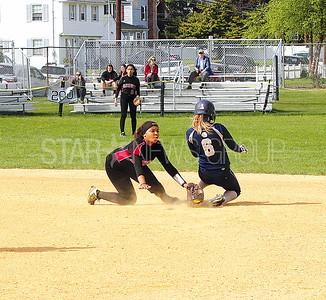Manasquan softball vs. Elizabeth senior day game