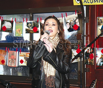 Lake Como Hollywoof Fundraiser 05/13/2017 from L to R: Former Miss NJ 1993 Michele Sexton Crowley singing national anthem