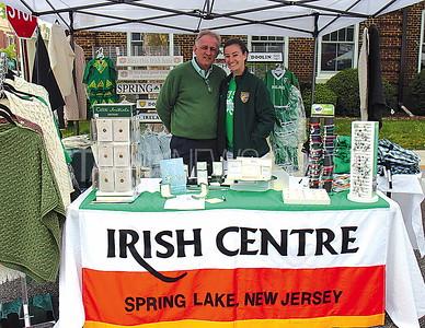 Spring Lake Irish Festival 5/20/2017 from L to R: Aidan Rushe and Ciara Rushe age 15 both of Spring Lake