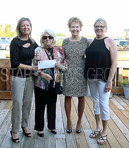 BRL Chamber Commerce// SHADE TREE..L to R: Heidi Wittenberg. Bridget Markuson. Kathie Adams and Sue Loveland
