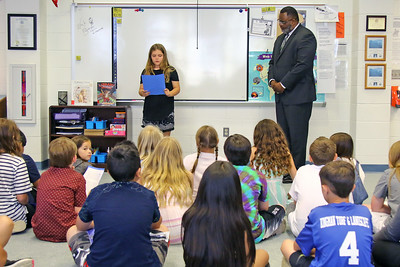 New Jersey Commissioner of Education DR. Lamont Repollet paid a visit ti the West Belmar Elementary School on Wednesday June 12, 2019.  (MARK R. SULLIVAN /THE COAST STAR)