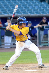 3rd Baseman, Frank Bellezza of the St. Rose High School Varsity Baseball Team takes his turn at bat during the 2019 Shore Conference All-Star Baseball Game, at First Energy Park in Lakewood, NJ on 06/12/2019. (STEVE WEXLER/THE COAST STAR).