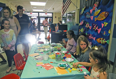 Fine Arts Night at Manasquan Elementary School in Manasquan, NJ on 6/13/19. [DANIELLA HEMINGHAUS | THE COAST STAR]