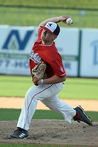 Spencer Bauer of the Wall Township High School Varsity Baseball Team was one of the starting pitchers at the 2019 Shore Conference All-Star Baseball Game, played at First Energy Park, Lakewood, NJ on 06/12/2017. (STEVE WEXLER/THE COAST STAR)
