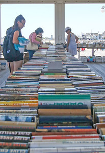 The book fair in Avon-by-the-Sea, NJ on 6/28/19. [DANIELLA HEMINGHAUS | THE COAST STAR]