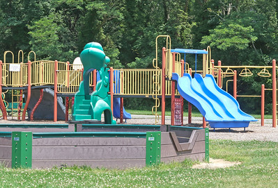 The playground at Allenwood Elementary School in Wall, NJ on 6/28/19. [DANIELLA HEMINGHAUS | THE COAST STAR]