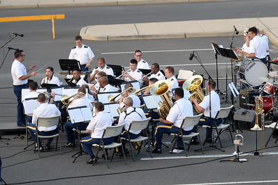 The 63RD Army Band in concert at Squan Plaza, Manasquan, NJ on 06/28/2019. (STEVE WEXLER/THE COAST STAR).