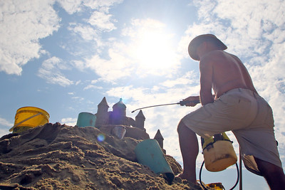 33rd annual New Jersey Sandcastle Contest was held at the 18th Ave beach in Belmar on Wednesday July 17, 2019. (MARK R. SULLiVAN/ THE COAST STAR)