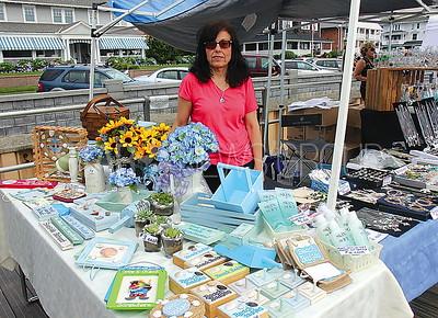 "Avon Craft Fair: Joanne Keller of Staten Island with ""Creative Accents"""