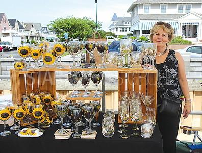 "Avon Craft Fair: Karen Dweyer of Brick with ""Karen's Colorful Corner"""