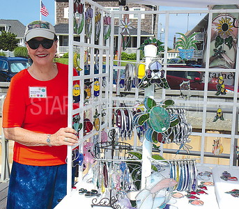 """Avon Craft Fair: Mary Comba Branchberg with """"Sunsations"""""""